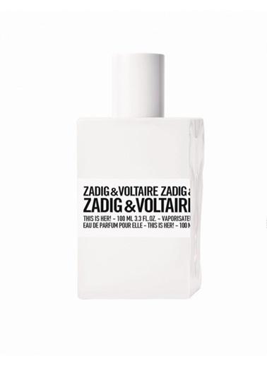 Zadig&Voltaire Zadig Voltaire This is Her Edp 100Ml Kadın Parfüm Renksiz